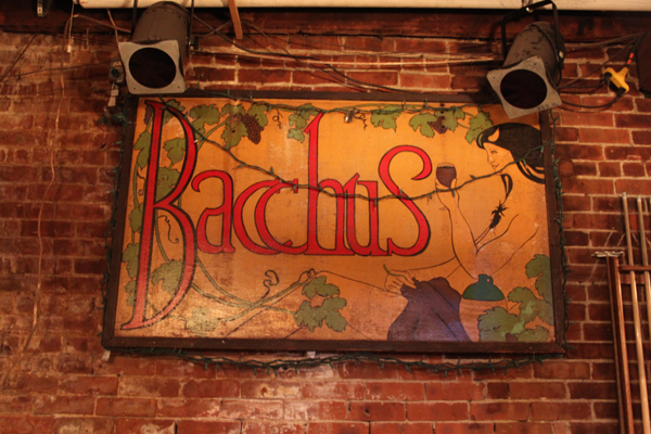Bacchus is a popular local spot for both food and drinks. Photo by Marcella Sorbellini