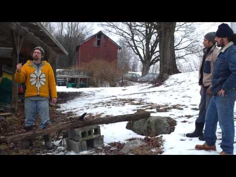 Maple Sugar Season Kicks Off with a Sawing Song