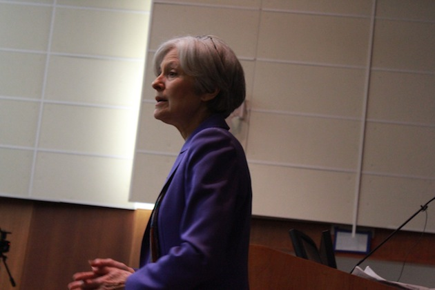 2012 Presidential Candidate Dr. Jill Stein Talks at SUNY New Paltz