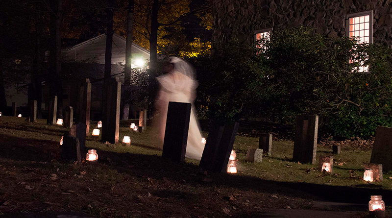 Hauntings and History Meet at Huguenot Street