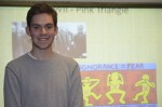 Zachary Rousseas-19, Double Major in History and Women's Studies. Minoring in Political Science. Photo by Jillian Nadiak