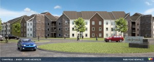 Architectural Rendering of New Paltz