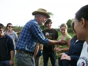 Farmer Dan Guenther