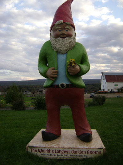Just Say 'Gnome' to Factory Farms