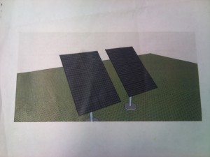 Solar Pannels used for renewable energy. Photo by Faith Gimzek