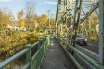 Walkway over the Carmine Liberta Bridge. Photo by Vincent Carnevale