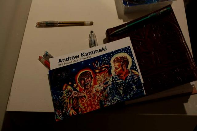 Behind The Artist: Andrew Kaminski