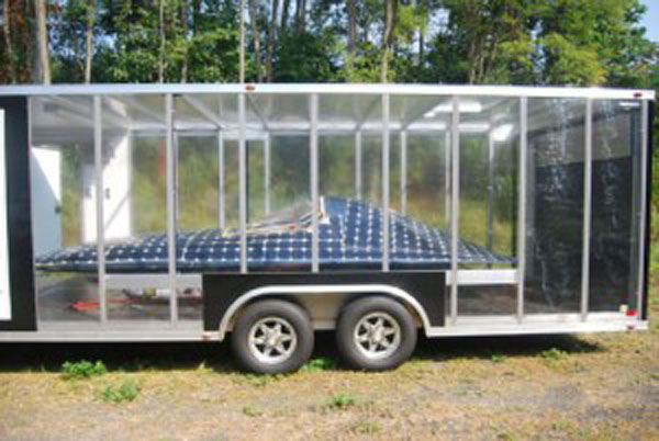 This solar car was built in 2010. TLR file photo by Brandon Quinn