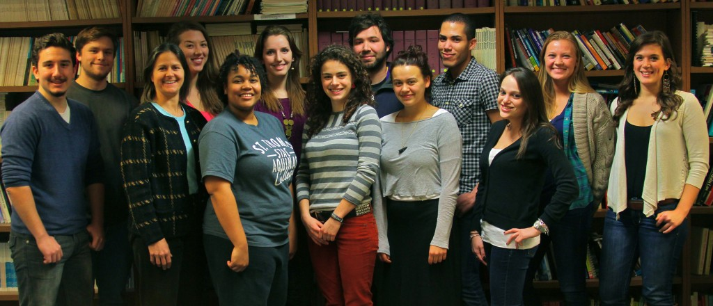 Spring 2013 Little Rebellion Staff. Photographed by Tim Smith.