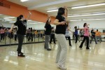 Students get in a great workout while doing fun and interesting moves. Photo by Kate Bunster.