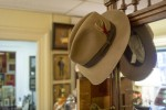 A fedora for sale. Photo by Vincent Carnevale