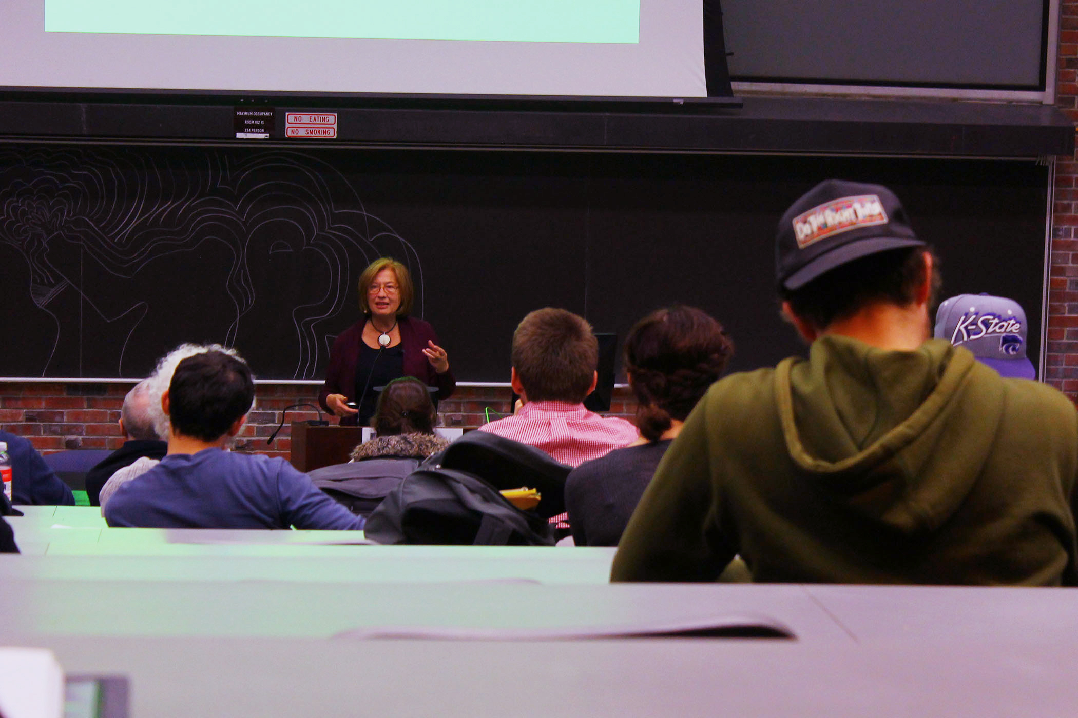 No Monkey-Business As Primatologist Patricia Wright Visits SUNY New Paltz