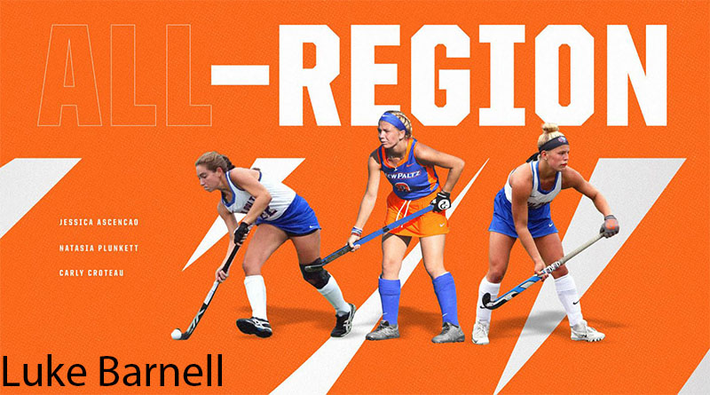 SUNY New Paltz Field Hockey's Ascencao, Croteau and Plunkett Named to NFHCA/Longstretch All-Region Team