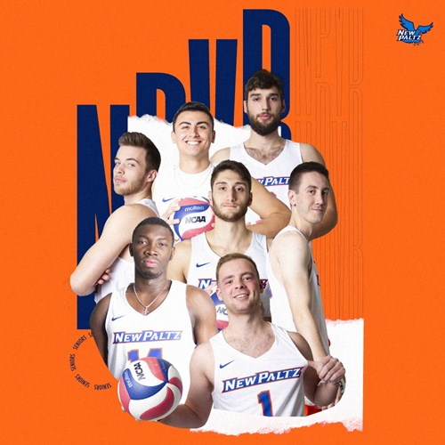 SUNY New Paltz Men's Volleyball 2020 Senior Class