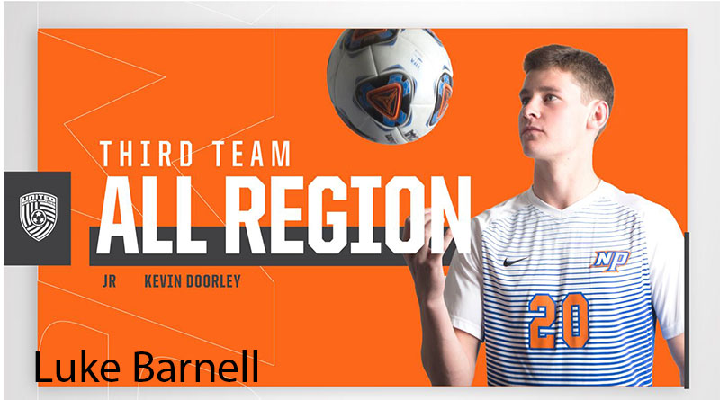 SUNY New Paltz Men's Soccer Junior Midfielder Kevin Doorley Earns Second-Straight All-Region Honor