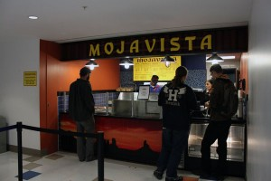 At Mojavista students can get nachos, quesadillas and tacos. Photo by Alicia Buczek.