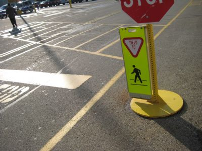 Campus Police Look to Increase Pedestrian Safety After Accident