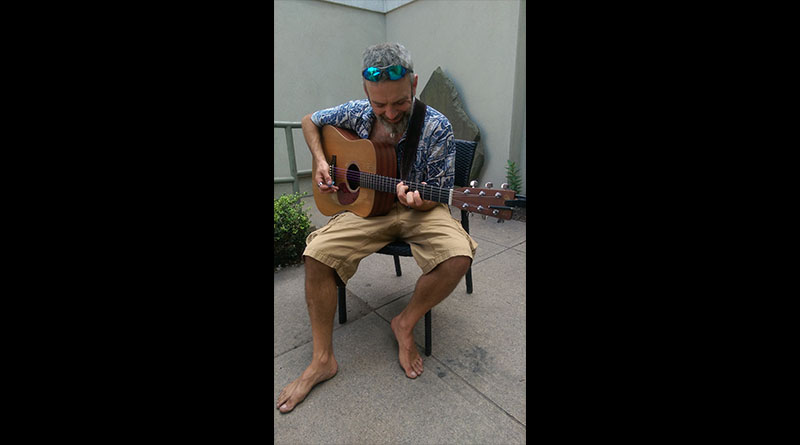 People of New Paltz: Barefoot Musician Kevin Kinsella