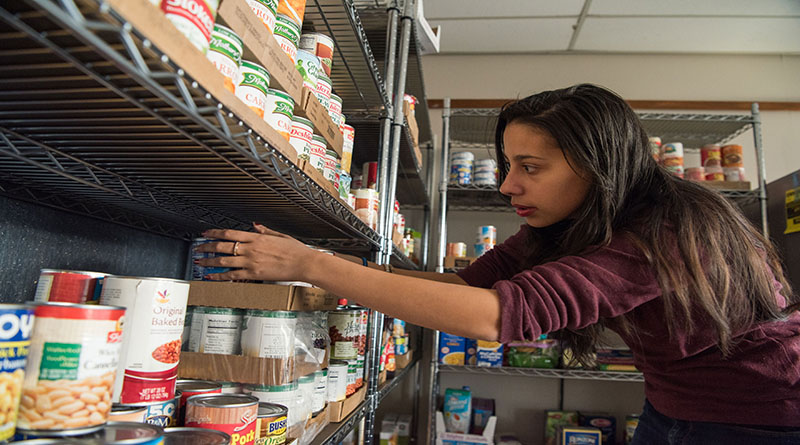 Campus Food Pantry Serves Students in Need