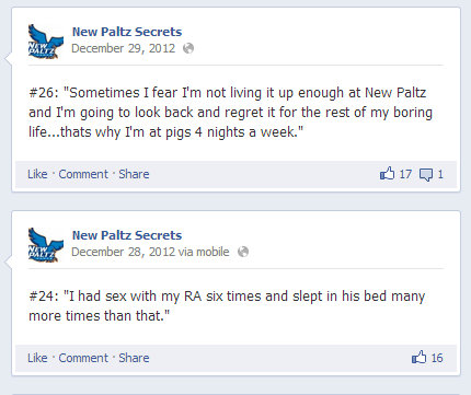 Top: A secret of not meeting potential. Bottom: Probably not how Residence Life wants their RAs used as resources.
