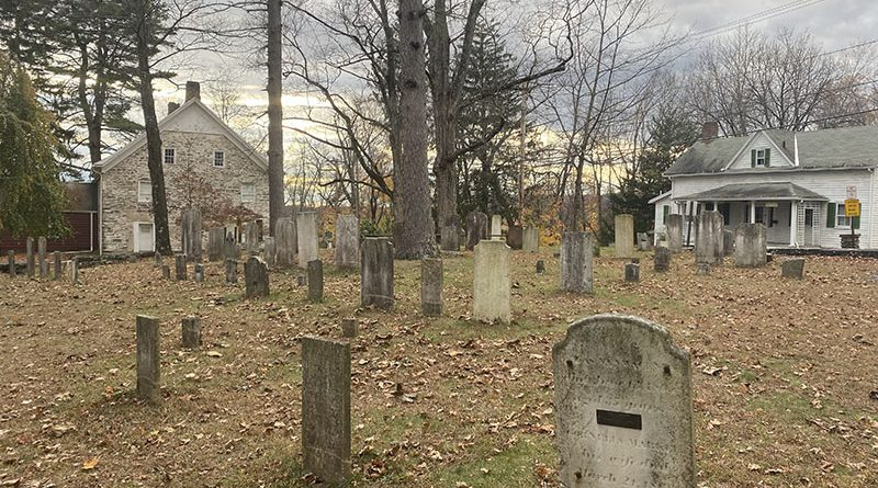 Haunted Hugeunot Graveyard. Photo captured by Emma Misiaszek