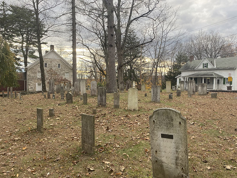 Haunted Hugeunot Graveyard. Photo captured by Emma Misiaszek