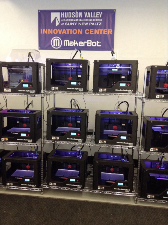 SUNY New Paltz Celebrates Nation's First 3-D Printing Innovation Center