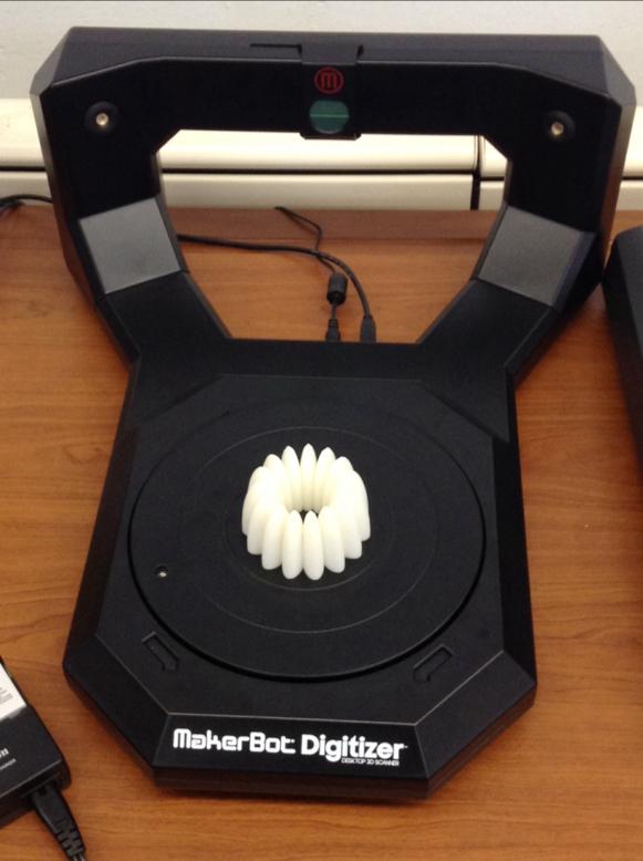 A Makerbot 3D Digitizer