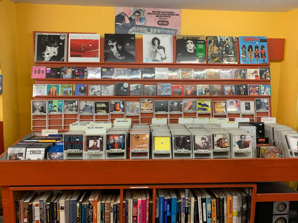 Jack's Rhythms sells new and used vinyls along with new and used CDs
