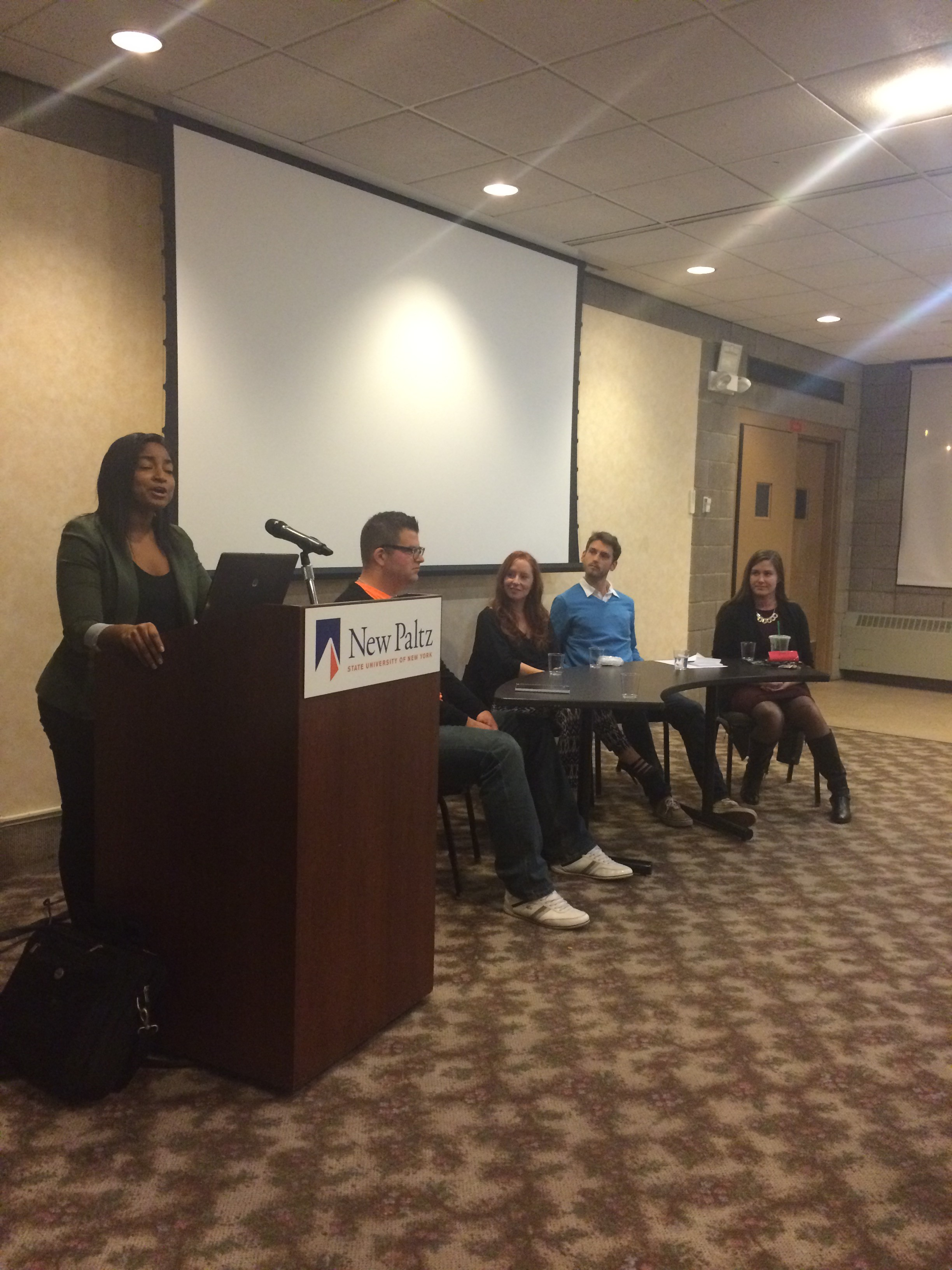"""Brilliantly Creative and Gainfully Employed: SUNY New Paltz Alumni Speak From Experience."""