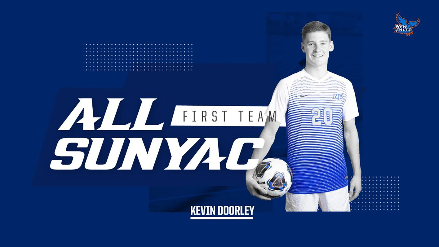 SUNY New Paltz Men's Soccer Junior Midfielder Kevin Doorley Earns Second-Straight First-Team All-SUNYAC Nod