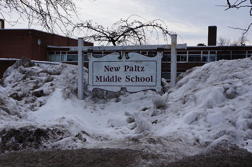 Local New Paltz school deals with snow