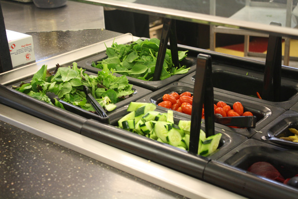 An increase of local produce might soon be a stable at SUNY colleges. Photo by Courtney Moore.