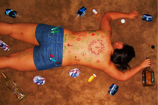 Postcards from the Edge: Drugs and Booze