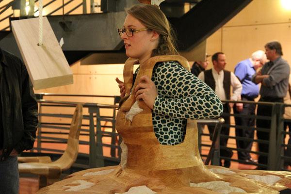 Wood Exhibition Spotlights New Paltz Talent