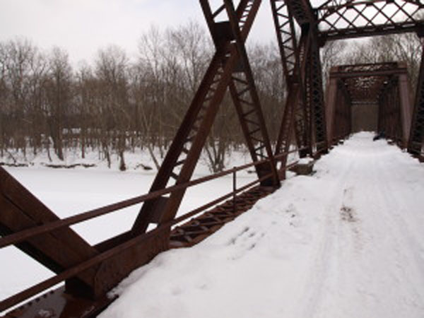 Undiscovered New Paltz: Truss Bridge