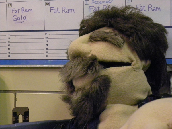 "Muppet Frenzy: ""Fat Ram"" Production, New Paltz Style"