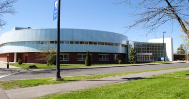 SUNY New Paltz's Athletic & Wellness Center