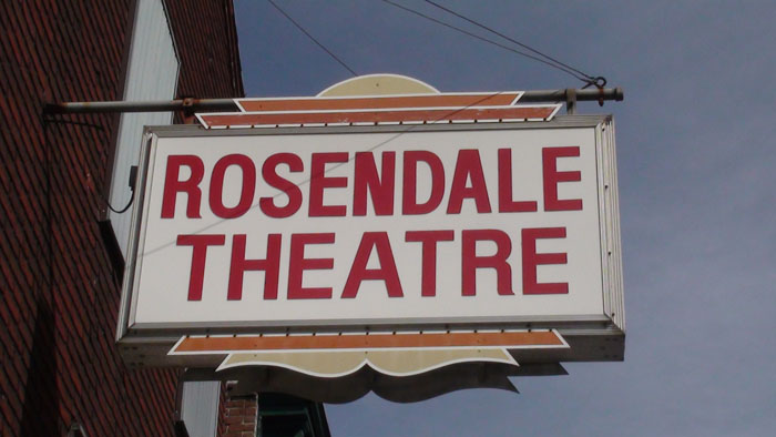 The Rosendale Theatre has been in business for more than 60 years.  Photo by Jason Zieran.