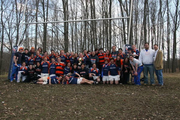 New Paltz Women's Rugby Wins Ruckfest in Dramatic Fashion