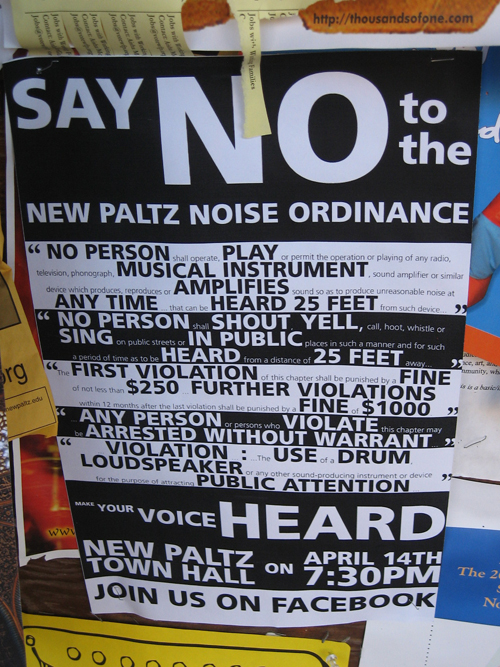 Getting Loud Over Noise Law