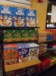 Cereal sold at the S Stop. Photo by Maria Schettini