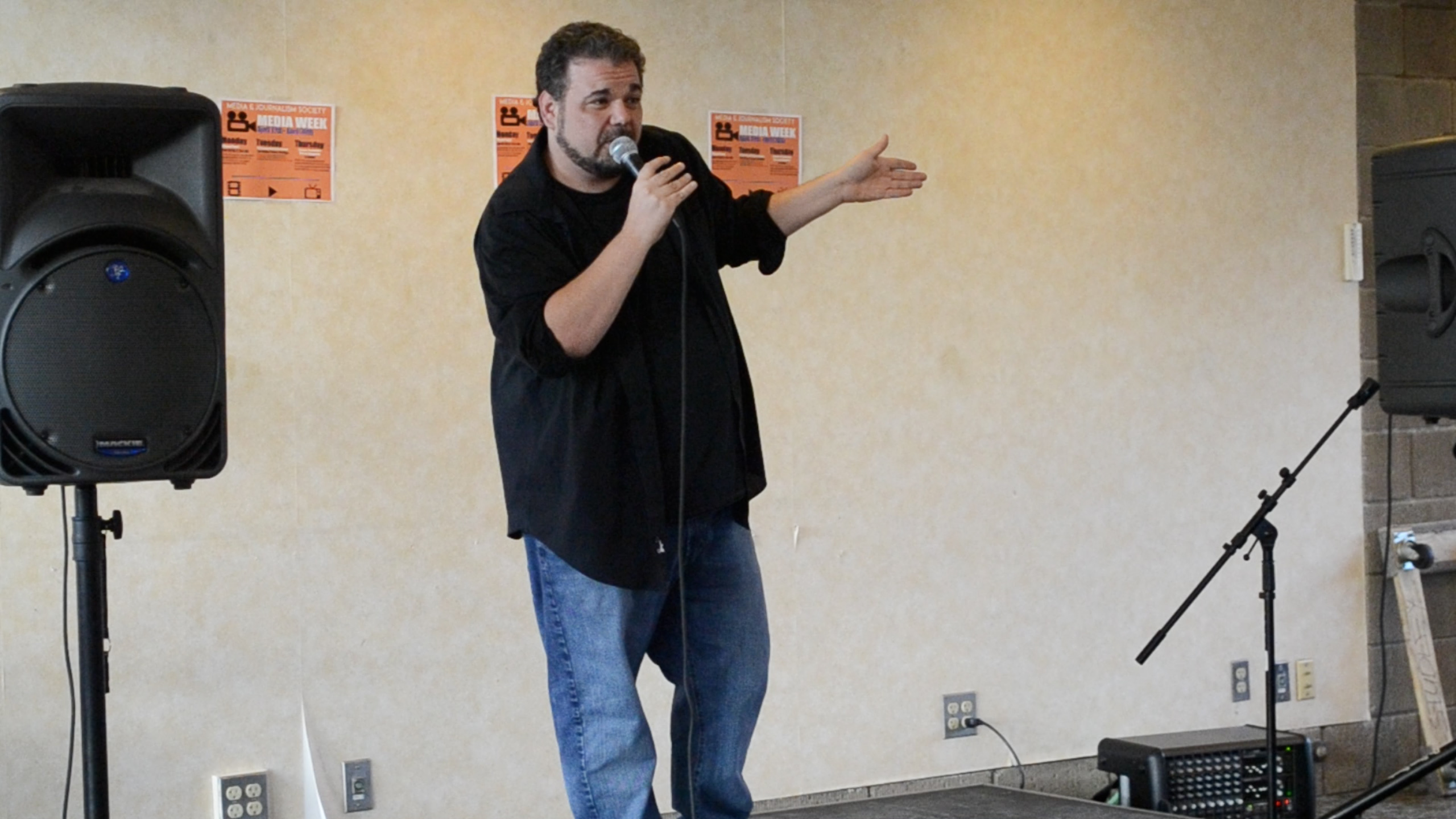 Comedian Brian Scolaro of Comedy Central Performs on Campus