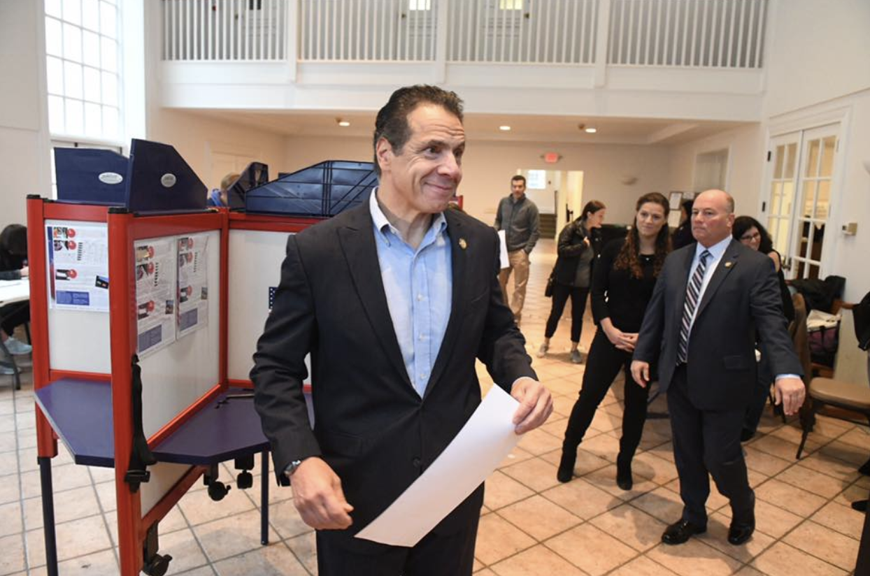 Cuomo Cruises to Third Term
