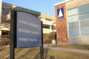 SUNY New Paltz has two theaters, Mckenna Theatre and Parker Theatre.