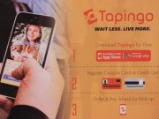 Tapingo poster seen around the SUNY New Paltz campus.