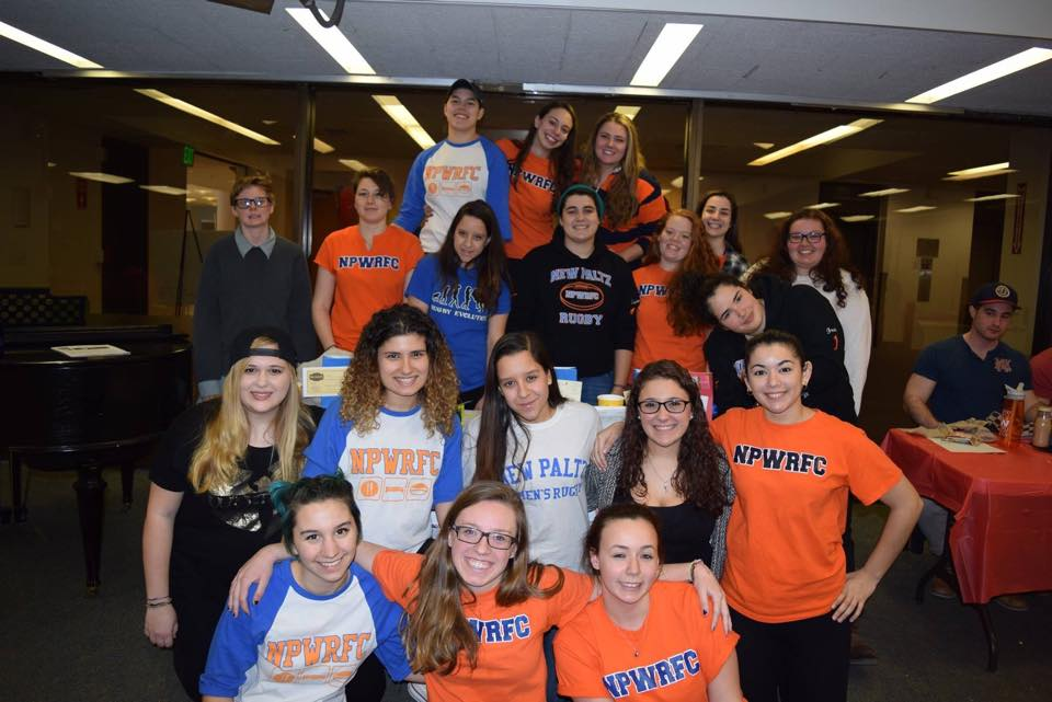 New Paltz Women's Rugby Holds Carnival to Raise Money for Charity