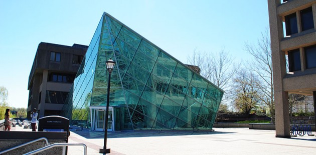 The SUNY New Paltz Atrium. Photo by Creative Commons user crz4mets2.