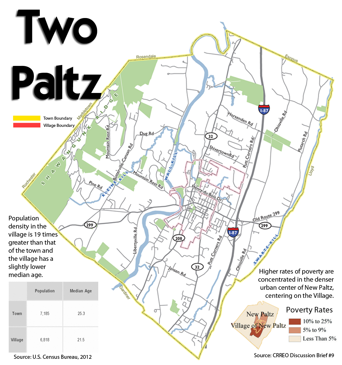 Two Paltz: Consolidation Considered for the Town and Village of New Paltz