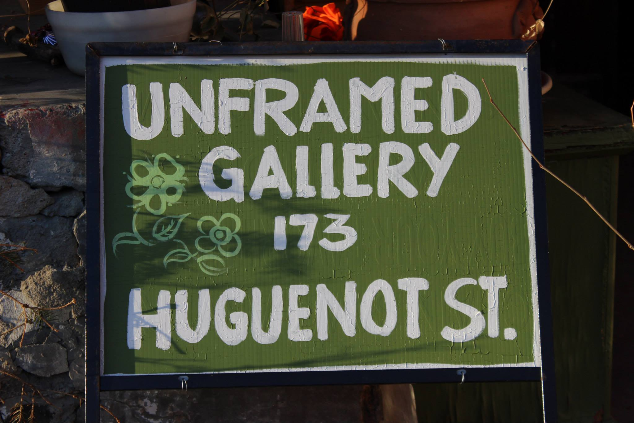 Unframed Artists gallery was created two years ago by Michelle and Bryan Riddell. Photo by Erin Nagy.